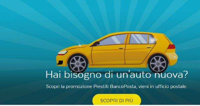 Ecco le super promozioni prestito BancoPosta Auto grazie alle quali sarà possibile acquistare un automobile sia essa nuova che usata.