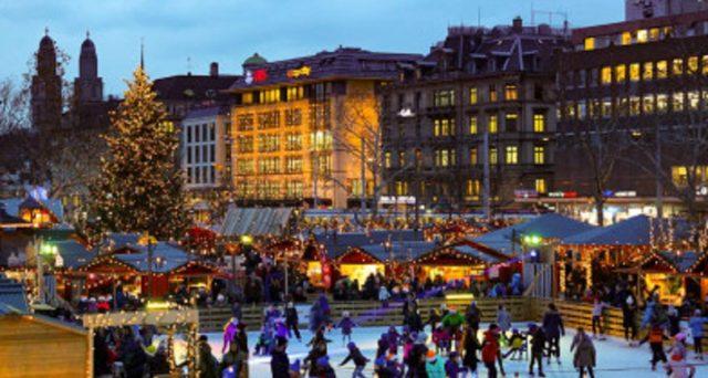 Mercatini di Natale 2019 in Svizzera: sconti per chi sceglie Trenitalia.