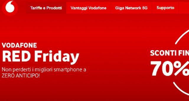 Arrivano i Red Friday di Vodafone: ecco cosa sono e quali modelli di smartphone si potranno ricevere in super offerta.