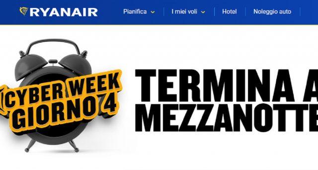 Ryanair e Vueling sono già pronte al venerdì nero dello shopping selvaggio: ecco le offerte del momento.