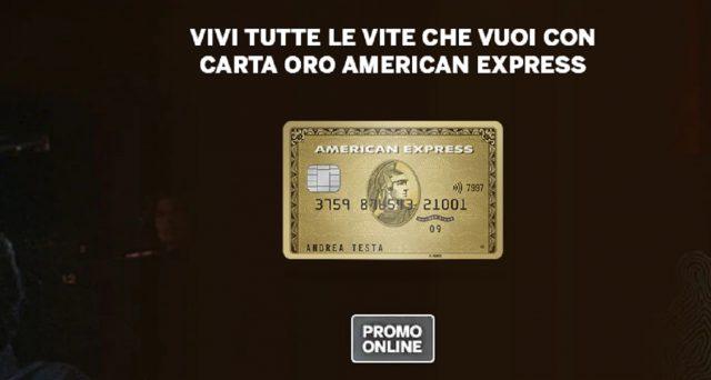 Vantaggi e offerte di carta Oro American Express.
