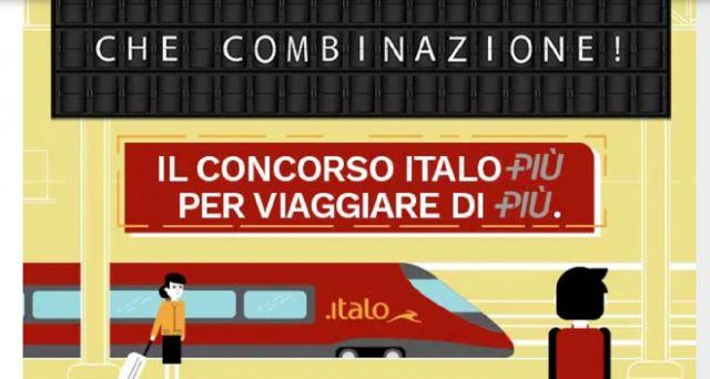 Le promozioni di dicembre di Italo Treno.