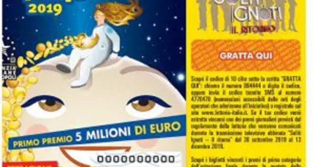 Numeri e serie dei biglietti di prima e seconda categoria estratti ieri 6 gennaio 2020 della Lotteria Italia nonché come riscuotere le vincite.