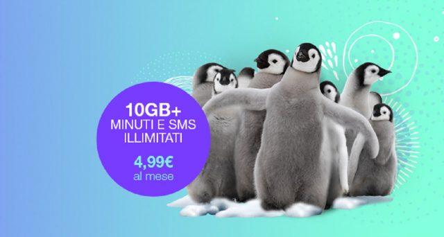 Ecco la super promozione attivabile solo per due giorni di Poste Mobile all'incredibile cifra di 4,99 euro al mese.