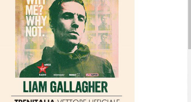 A febbraio 2020 concerto di Liam Callagher: ecco la super offerta di Trenitalia per tale evento.