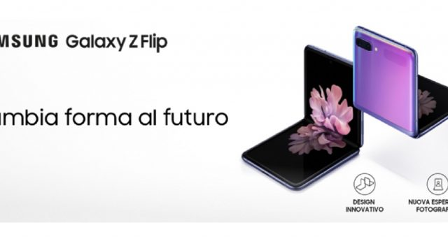 Offerte Tre Italia super con il Galaxy Zeta Flip.