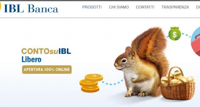 Caratteristiche e tassi conti deposito IBL.
