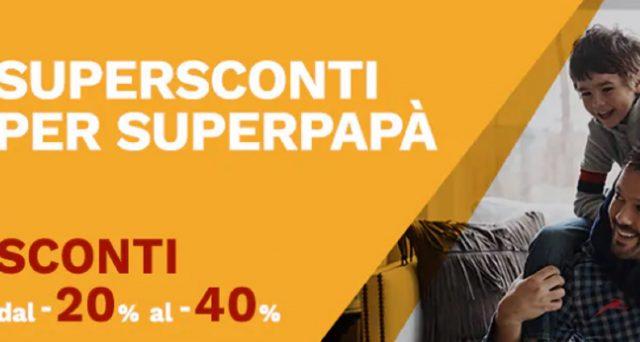 Per la festa di tutti i Papà arriva la promozione Italo Treno per la quale si potranno acquistare biglietto per viaggiare anche a luglio con sconti dal 20 al 40%.