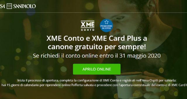Ultima possibilità per sottoscrivere la promo Intensa Sanpaolocon conto e carta a zero euro.