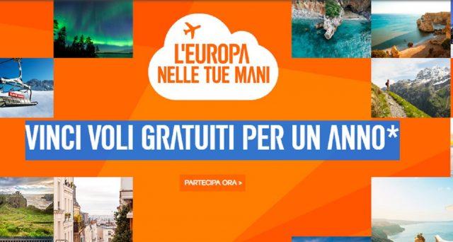 La compagnia aerea low cost EasyJet è pronta a volare nuovamente in Italia: le info e il super concorso per vincere voli gratis per un anno intero.