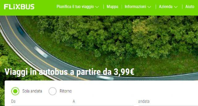 Anche Flixbus riprenderà la programmazione di viaggio: all'inizio solo con alcune rotte.