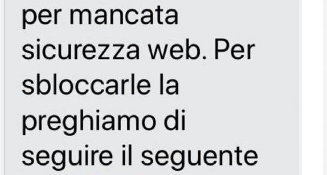 La Polizia Postale invita a prestare attenzione ad un nuovo tentativo di smishing a danno di Poste Italiane.