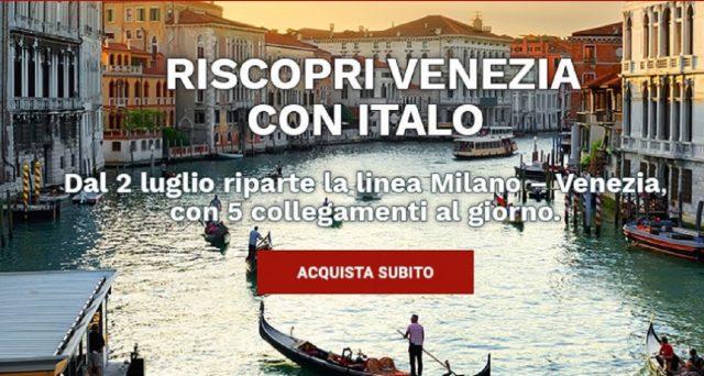 2 luglio 2020 è una data da segnare: riprenderanno delle linee ed Italo Treno lancerà nuove destinazioni: le info e le super offerte del momento grazie alle quali i bambini viaggeranno gratis.