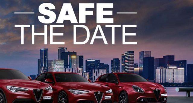 """Dalla Giulia a Stelvio, passando per Giulietta, tutte le offerte auto Alfa romeo dal 20 al 25 luglio 2020. Promozione """"Safe the Date""""."""