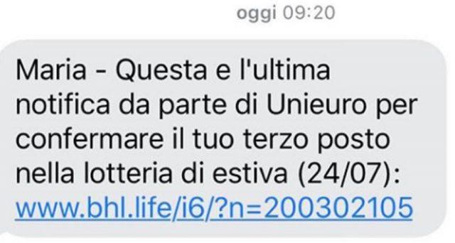 La Polizia Postale online invita a prestare attenzione all'ultimo sms truffa estiva ai danni di UniEuro: ecco come funziona e come proteggersi.