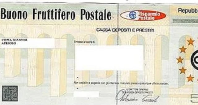 Riscosso importo inferiore per buono fruttifero postale serie Q/P per anni dal 21° al 30°. L'ABF condanna l'intermediario a procedere con il rimborso.