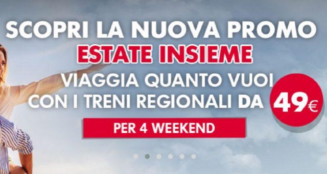 Ecco in costa consiste la nuova super promozione week-end Estate 2020 a 49 euro di Trenitalia e il nuovo itinerario viaggio verso il Sud.