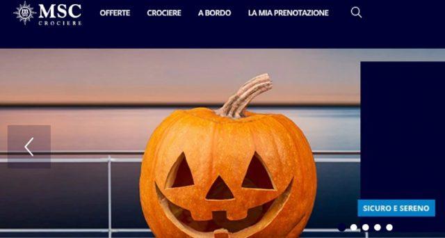 MSC Crociere lancia l'offerta di Halloween 2020 con crociere a prezzi da paura. Inoltre il cambio data sarà gratuito ed incluso nel prezzo ci sarà anche il Piano di Protezione Covid-19.