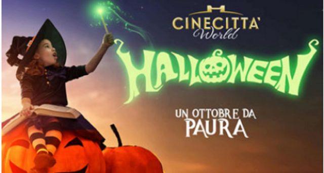 Offerte Halloween 2020 di Cinecittà World: promo biglietti.