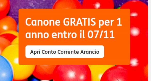 Ecco la super offerta della Ing grazie alla quale si potrà aprire il conto corrente Arancio con canone gratis per 1 anno.