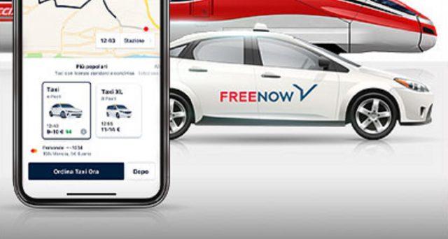 Offerta combinata Free Now e Trenitalia: ecco le info