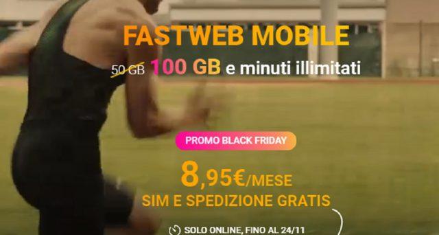 Ecco la promozione last minute di Fastweb per il Black Friday 2020: il fisso ad un prezzo super e 100 Gb in 4G invece di 50.