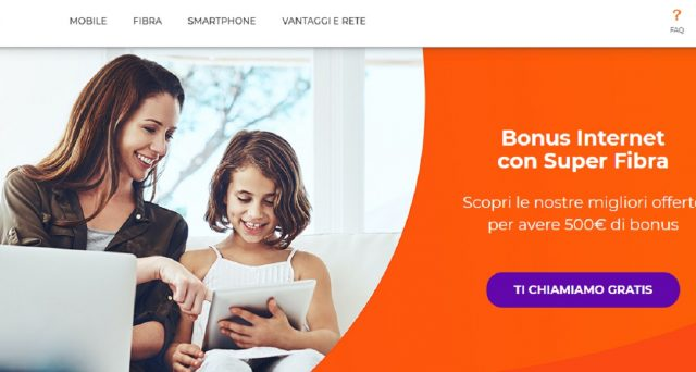 Tim e WindTre hanno confermato l'adesione al bonus 500 euro Pc e internet promosso dal Governo: info Tim Super Voucher e Super Fibra per la connettività e l'acquisto di Pc o tablet.
