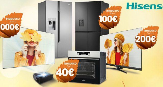 Hisense ti premia 'chi acquisterà una Laser TV avrà un rimborso fino a 1.000 euro'