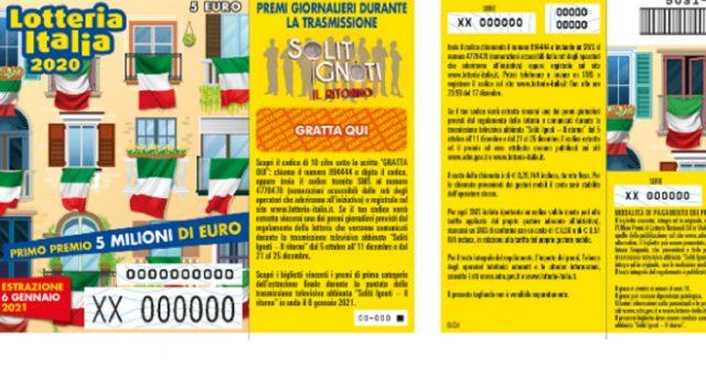 Il primo premio della Lotteria Italia 2021 è andato a Pesaro, ecco tutti i biglietti vincenti per le tre categorie. Biglietti venduti: 4,6 milioni.
