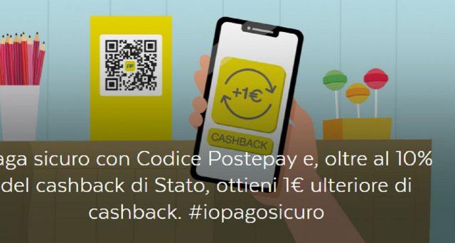 Registrazione e accredito senza conto corrente: le info su come utilizzare il Cashback di Stato con BancoPosta e Postepay.