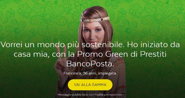 Ecco la promo Green sui prestiti BancoPosta Ristrutturazione Casa: info e principali caratteristiche.