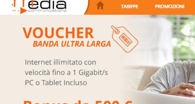 Media Communication e le offerte per il Bonus 500 euro internet e Pc disponibili in tutto il territorio nazionale.