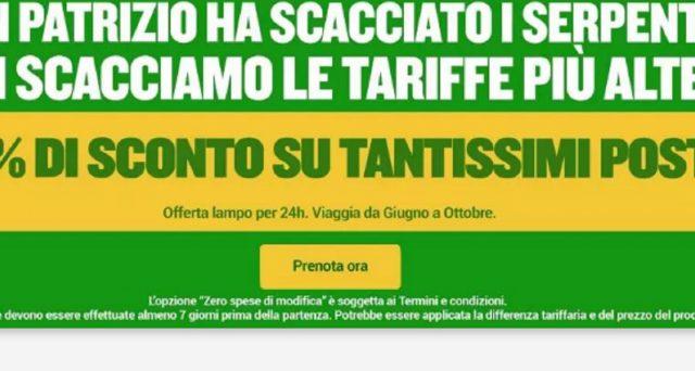 Ecco numerose offerte per la festa del papà 2021, di San Patrizio e per l'estate 2021 proposti dalle compagnie aeree low cost Volotea e Ryanair nonché da Tap Air Portugal.