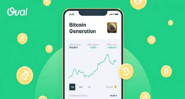 Su Oval debutta Bitcoin Generation, il nuovo prodotto di investimento per chi è interessato alla criptovaluta.