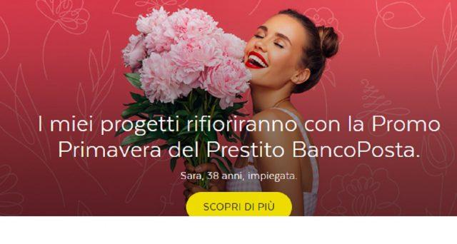 Promozioni di primavera: ecco caratteristiche e info prestito BancoPosta Consolidamento e Classico.