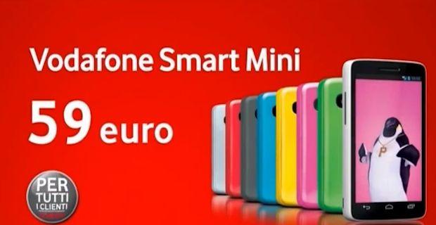 Il Vodafone Smart Mini avrà il successo che merita? Probabilmente sì, anche a causa di un fattore fondamentale: il prezzo. Andiamo a vedere il miglior prezzo a cui è possibile oggi acquistare online Vodafone Smart Mini.