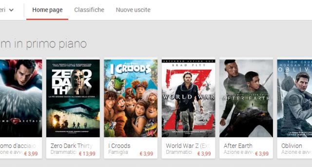 Google Play Movies è arrivato in Italia e recentemente è disponibile anche su iPhone e iPad: ormai è ufficiale, la nuova frontiera dell'entertainment cinematografico è online. Scopriamo insieme come funziona il servizio.