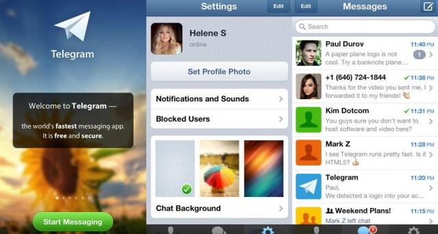 Telegram Messenger raggiunge la cifra record di 4 milioni di nuovi utenti iscritti nel giro di sole 18 ore. Il suo segreto? La privacy e l'autodistruzione dei messaggi. Eccola la vera alternativa al WhatsApp made in Facebook.