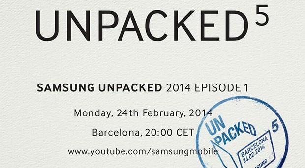 Samsung ha organizzato un evento per il 24 febbraio, alla vigilia del MWC 2014 di Barcellona, e subito si sono scatenate le indiscrezioni: lancio imminente per il nuovo Galaxy S5?