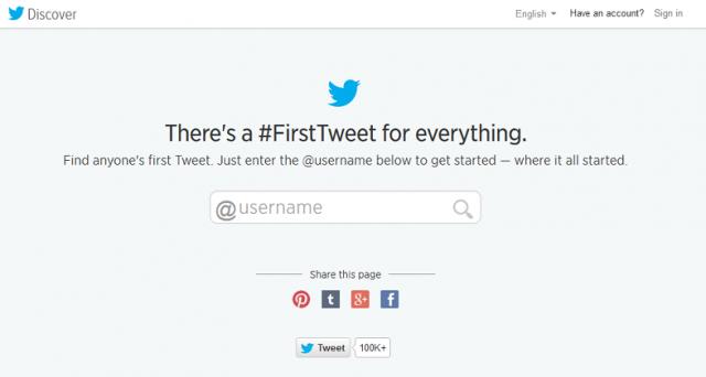 Twitter compie 8 anni: era infatti il 21 marzo quando il creatore Jack Dorsey fece il primo cinguettio. 8 anni dopo ecco un regalo a tutti gli utenti iscritti: la possibilità di vedere il primo tweet, vostro e quello dei vostri profili preferiti.