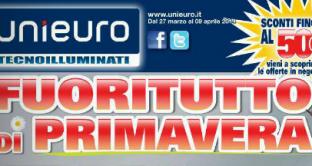 Il nuovo volantino Unieuro è online e dal 27 marzo al 9 aprile 2014 fa