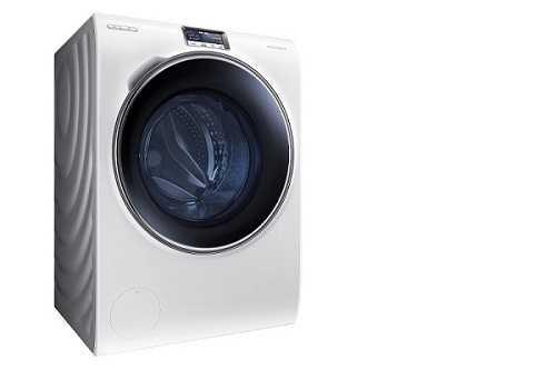 samsung crystal blue ecco a voi la lavatrice intelligente