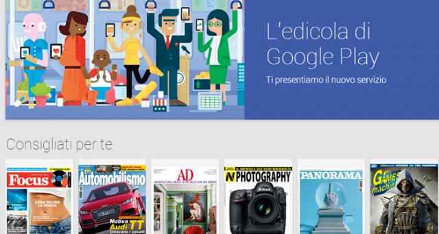 Google Play Edicola è finalmente arrivato in Italia e mette a disposizione degli utenti una ricca serie di quotidiani e riviste gratis e a pagamento. Scopriamo più da vicino Google Play Edicola e come funziona.