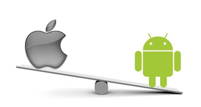 Apple aggredisce Android in Europa e in Giappone con il suo iOS, ma cala negli Stati Uniti, in attesa che sul mercato escano i nuovi top di gamma: iPhone 6 e Galaxy S5 Prime.