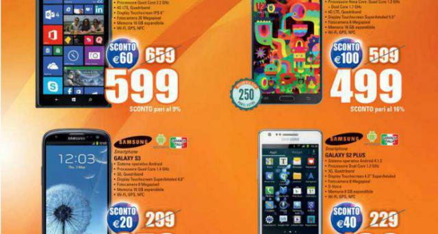Marcopolo Expert offre ai suoi clienti gli sconti di Carnevale, proponendo in offerta smartphone, tablet, notebook, console e videogiochi a prezzi eccezionali. Andiamo a scoprire tutte le promozioni.