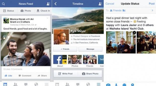 Nuove importanti funzioni sono state introdotte con l'ultimo update di Facebook per iOS, una delle quali è ancora in fase di test e non attiva, ma da ora in poi, per i possessori di iPhone, sarà possibile anche scrivere post offline e vederli pubblicati quando torna la connessione.