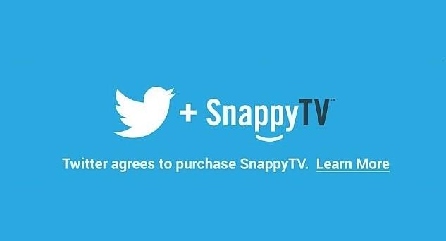 Twitter ha acquistato Snappy TV, app che consente agli utenti di filmare, editare e condividere brevi spezzoni televisivi sui principali social network. Ecco perché l'operazione risulta essere vantaggiosa per entrambe le società e non solo.