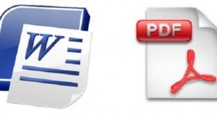 Come convertire un Pdf in un documento Word e allo stesso modo come convertire un documento Word in un file Pdf? Ecco una guida che vi spiegherà come convertire gratuitamente i due tipi di documenti.