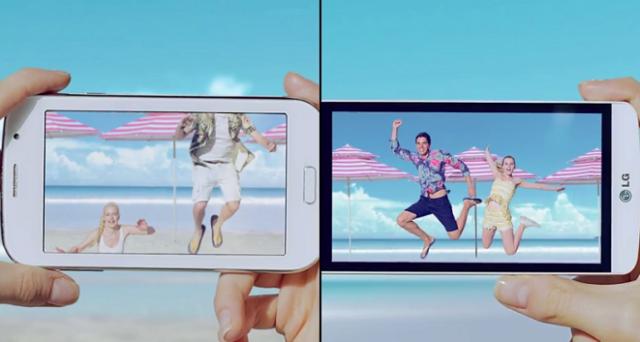 LG L Bello e LG L Fino potrebbero rivelarsi una bella sorpresa nel settore degli smartphone: nel frattempo LG cerca di convincere il pubblico con due video che prendono di mira direttamente o indirettamente Samsung.