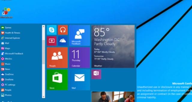 Satya Nadella annuncia un'importante novità: Windows 9 sarà un sistema operativo unificato per tutti i dispositivi e potrebbe essere disponibile a partire da aprile 2015.